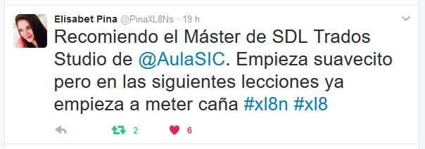 Recomendación Master SDL Trados Studio